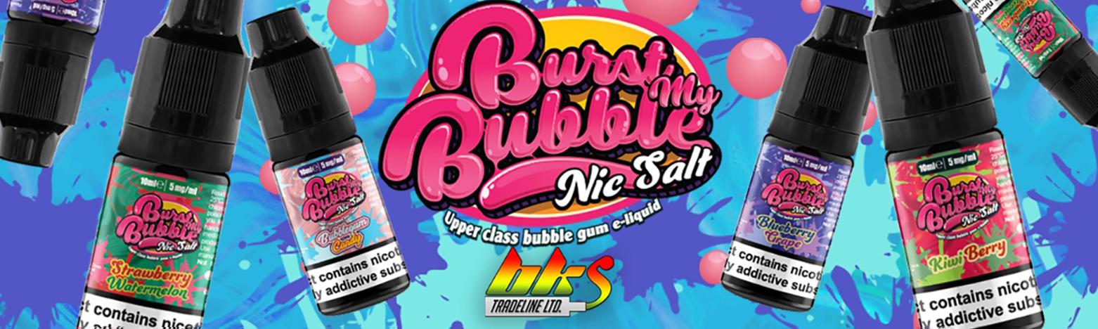 Burst My Bubble Nic Salts