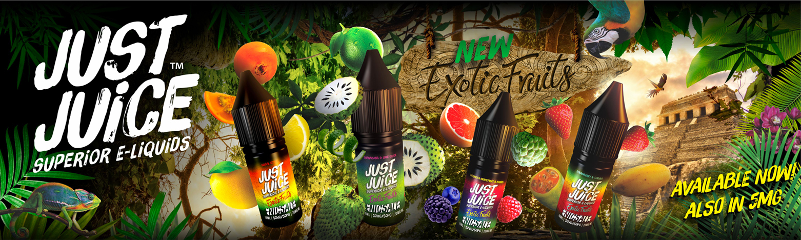 Just Juice Exotic Range