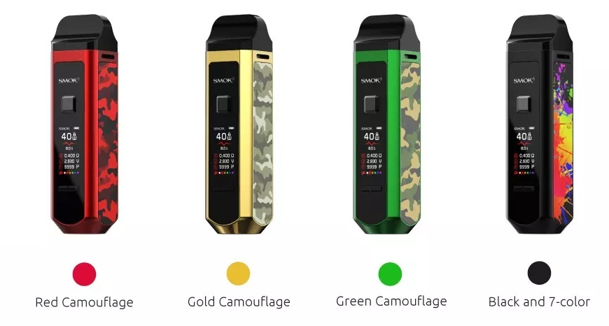 SMOK Restocks @ BKS!! RPM 40 Kit New Colours | Exclusive Snowwolf x Just Juice Collaboration