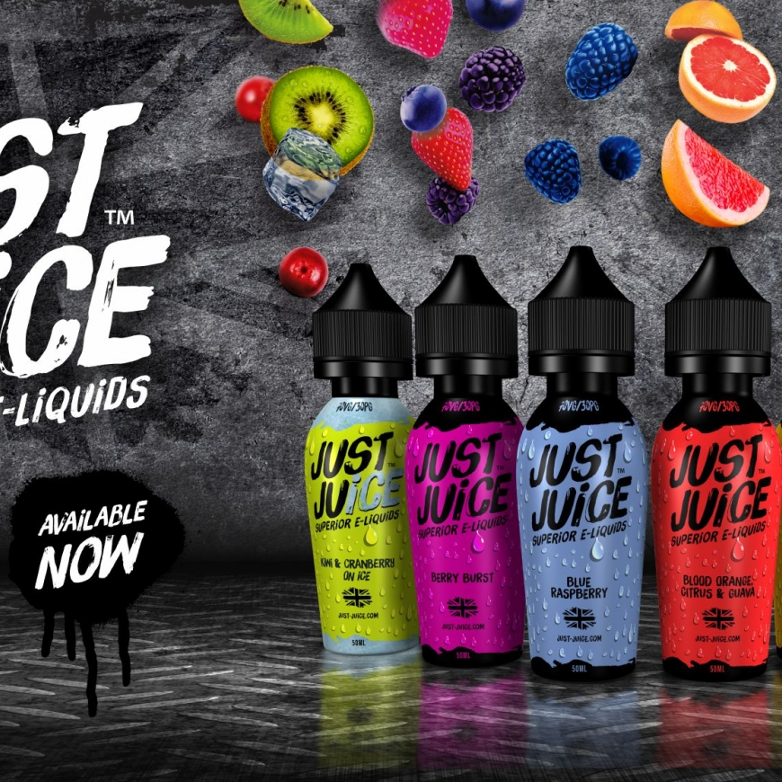 Wotofo Accessories & Just Juice E-Liquids Available now!!