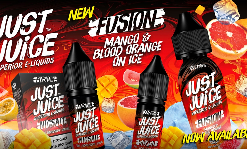 New @ BKS! Just Juice Fusion Mango & Blood Orange | I VG Restocks & More!