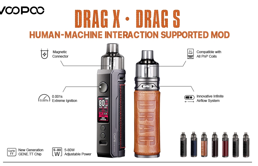 NEW @ BKS!! Voopoo DRAG X & DRAG S Kits | I VG Restocks | So Slushy & More!!