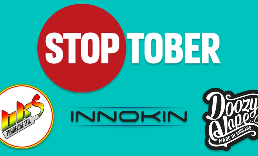STOPTOBER Offers @ BKS In Partnership with Innokin & Doozy Vape Co | STOP SMOKING TODAY!