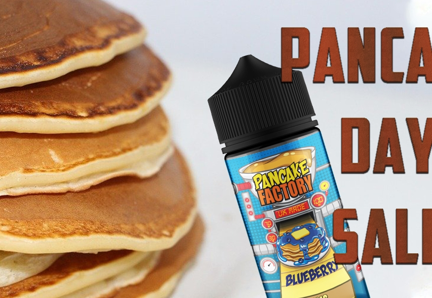 Pancake Day Offers @ BKS!! 15% Off your favourite pancake e-liquids for this week only!!