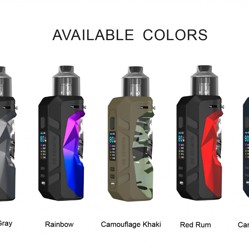 NEW @ BKS!! Sigelei Humvee 80W Pod Mod | Geek Vape Aegis Boost LE Kit | Voopoo Drag 2 Refresh Platinum Edition | Restocks & More!!