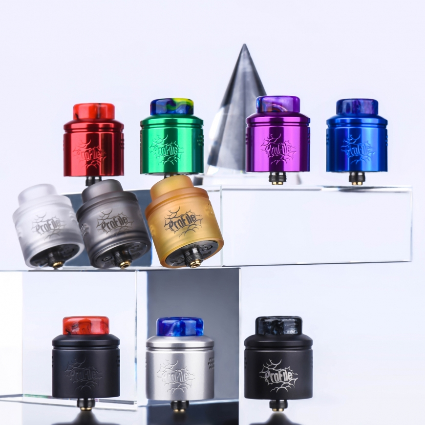 New Wotofo Profile Colours In Stock Now!!