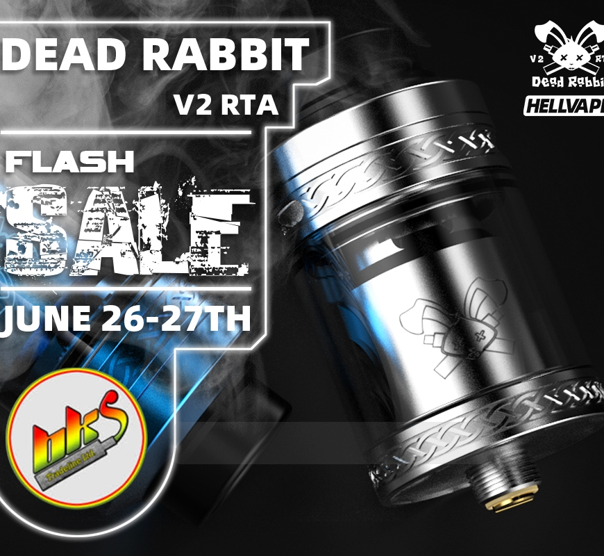 Hellvape Dead Rabbit V2 - FLASH SALE!! - Limited Pre-Release Quantities Available Now @ BKS!!