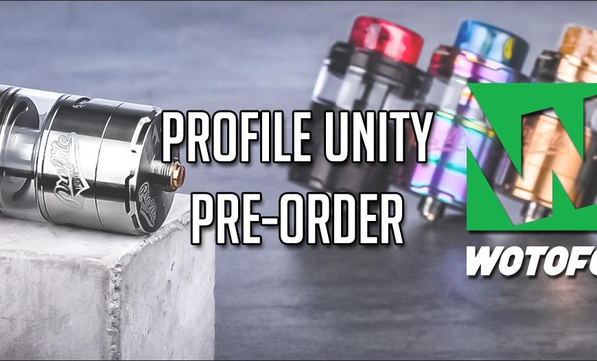Wotofo Profile Unity RTA Pre-Order