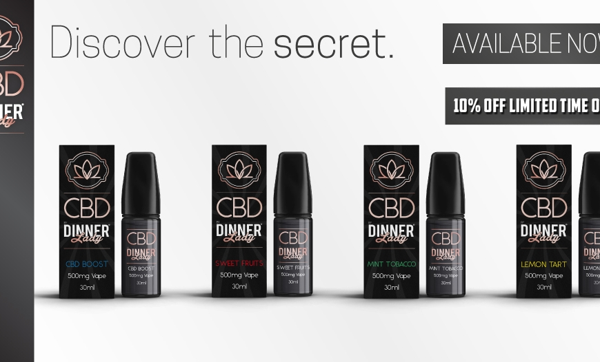 Great CBD Ranges @ BKS!! Dinner Lady CBD 2 Week Offer | GRN | LVWell
