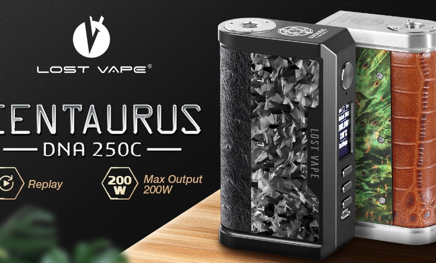 NEW @ BKS!! Lost Vape Centaurus DNA250C Box Mod | Fresh Vape Co | Vaperz Cloud & More!!