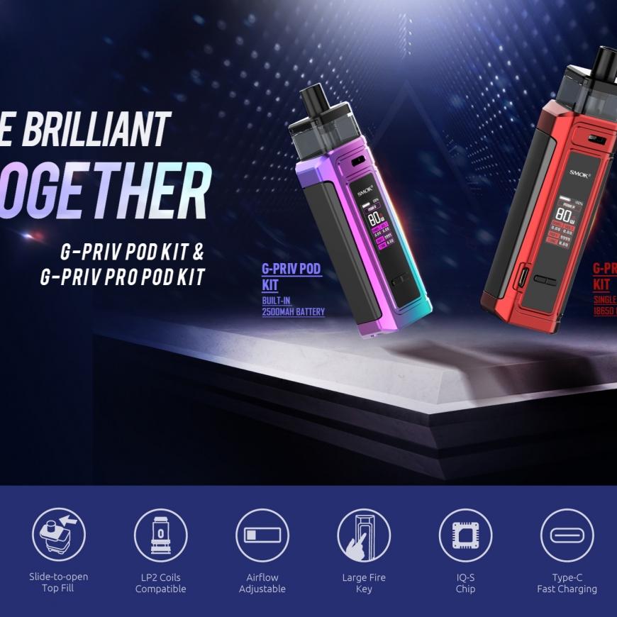 NEW @ BKS!! SMOK G-Priv Pod Kit | Doozy Seriously nICE & More!!