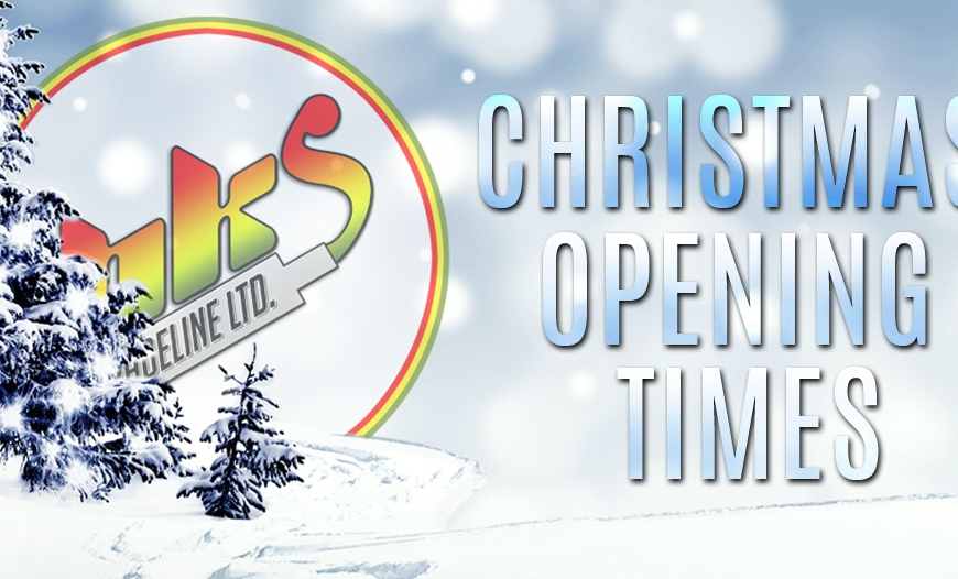 BKS XMAS Opening Times | Restocks & More!
