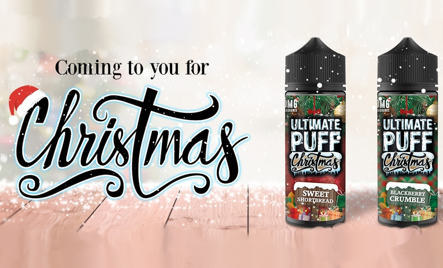 NEW @ BKS!! Augvape Narada Pod Kit | Ultimate Puff Christmas E-Liquids | CHRISTMAS OPENING TIMES