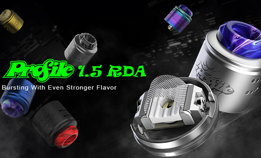 NEW @ BKS!! WOTOFO Profile v1.5 24mm Mesh RDA | Experience Next Level Flavour!!