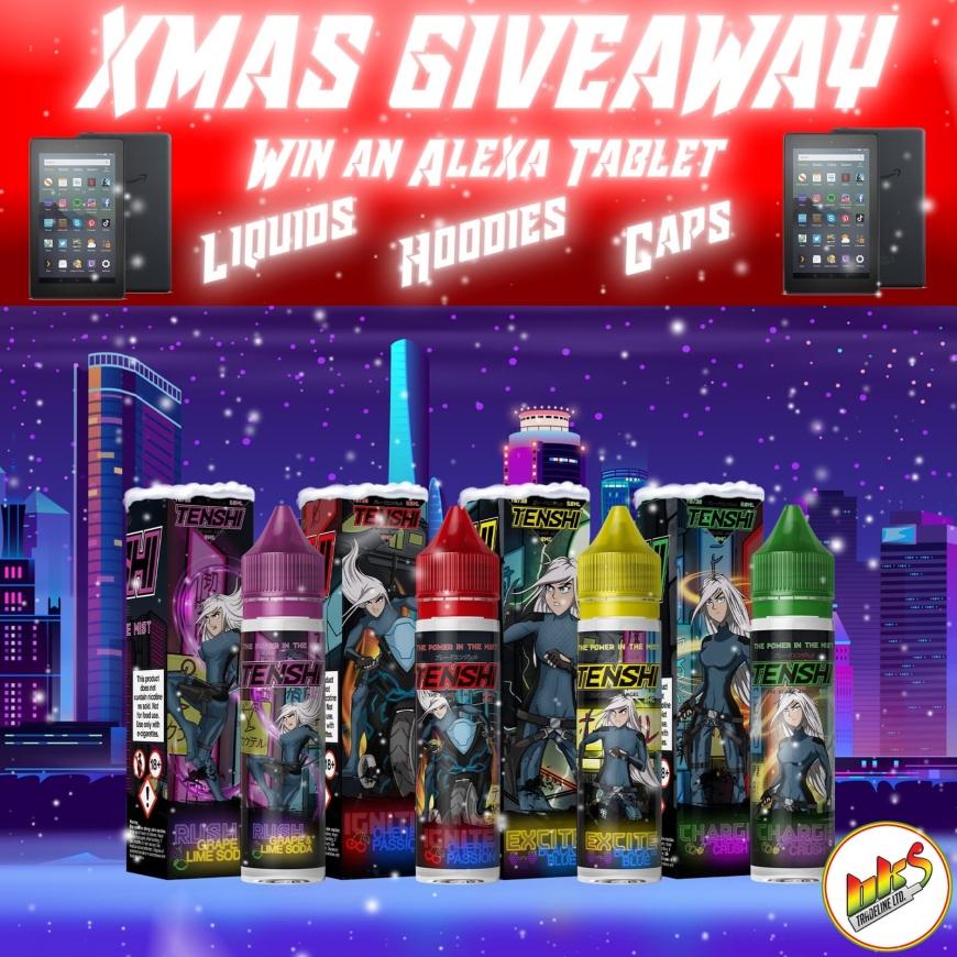 BKS Exclusive Tenshi Tablet Christmas Giveaway!!