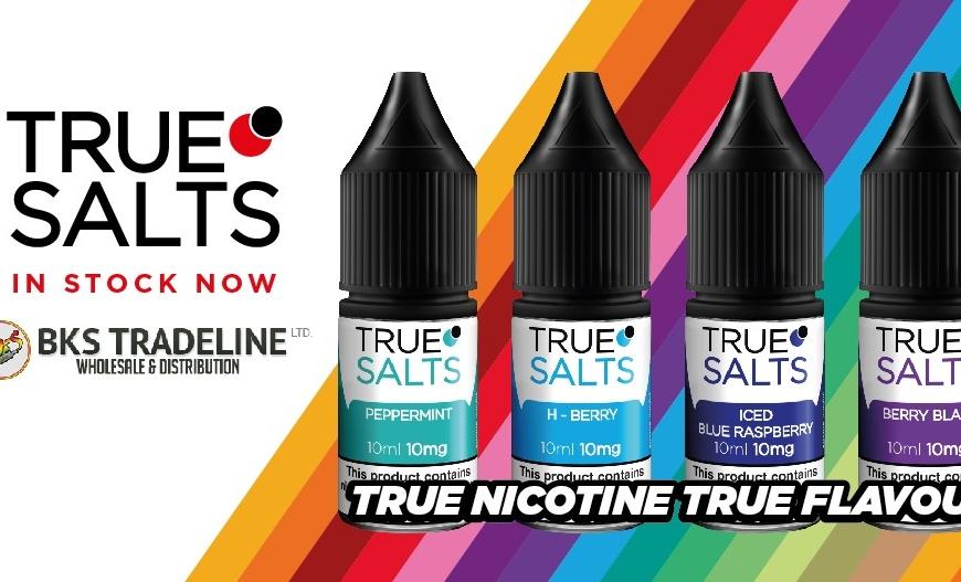NEW E-Liquids @ BKS! True Salts Nicotine Salt Liquids   Tenshi Natomi Menthol Range   Charlie's Chalk Dust   Nevoks VEEGO Kit   Restocks & More!!