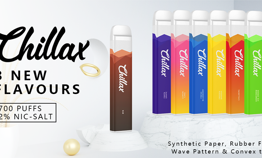 Exclusive Chillax Disposable Offer @ BKS!! Buy 10 - Get One Extra FREE!!