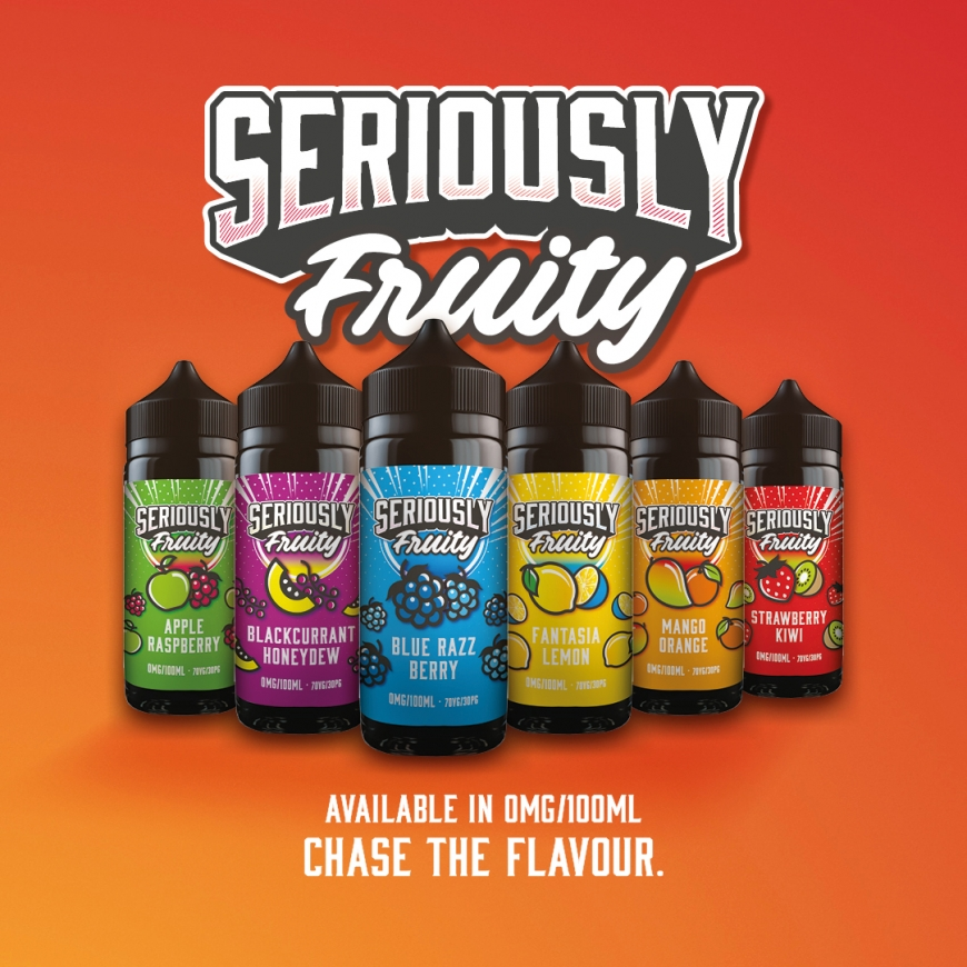 NEW Seriously Fruity Range from Doozy Vape Co | Ruthless E-Juice | Frappe | Burst my Bubble | Evil Drip & Many More Restocks!!