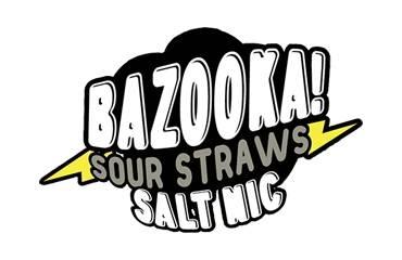 Bazooka! Sour Straws Nicotine Salts