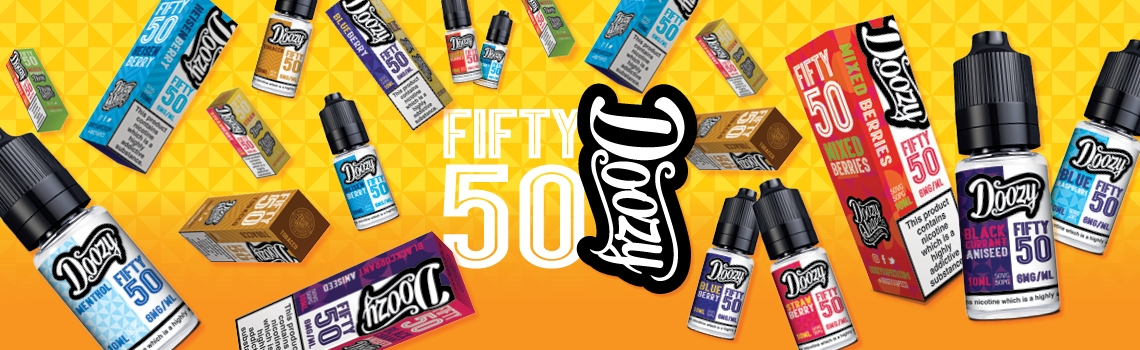 Doozy Vape Co Fifty 50 Range