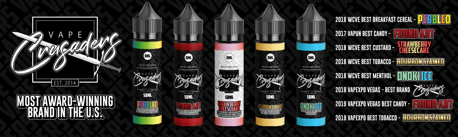 Vape Crusaders Cheesecake Line