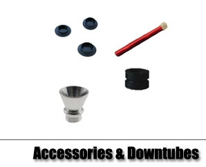 Acrylic Waterpipe Accessories & Downtubes