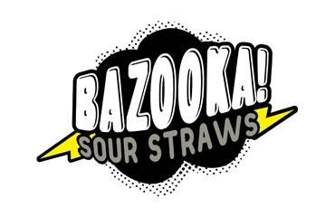 Bazooka! Sour Straws