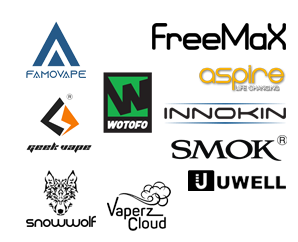 All Tank & Rebuildable Brands