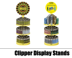 Clipper Display Stands