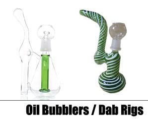 Oil Bubblers & Dab Rigs
