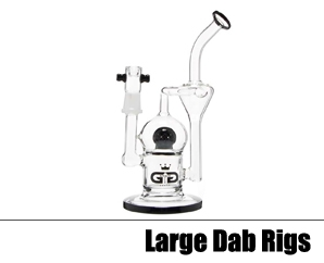 Large Glass Dab Rigs