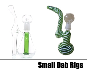 Small Glass Dab Rigs