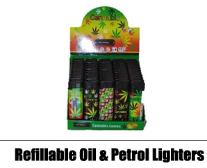 Refillable OIl & Petrol Lighters
