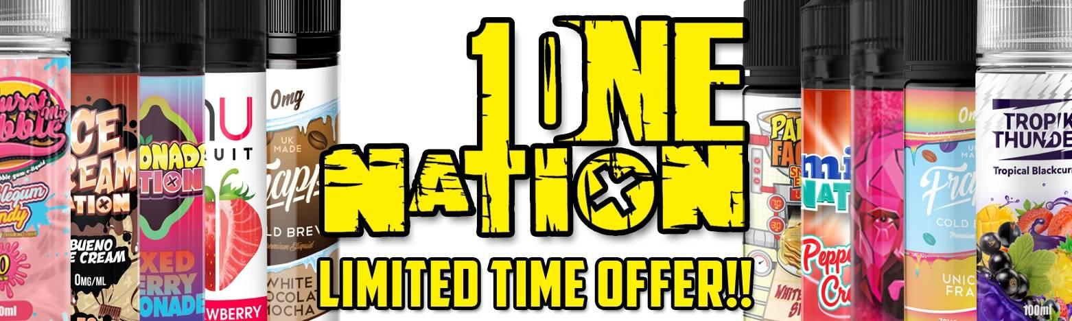 One Nation E-Liquids