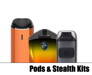 Pod Systems / Stealth Vapes