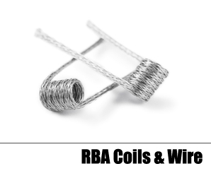 Rebuildable Coils (Wire & Pre-Made)