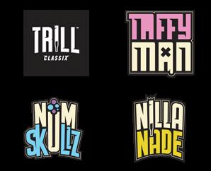 Trill Classix - Taffy Man / Num Skullz / Nilla