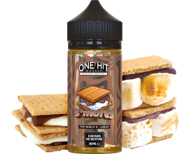 "One Hit Wonder - ""Winter"" Series - S'MORES - 100ml Shortfill - ZERO Nicotine"