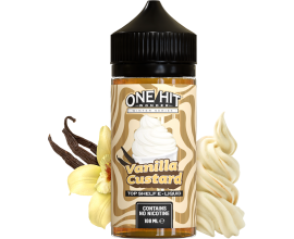 One Hit Wonder Winter Series | Vanilla Custard | 100ml Shortfill | 0mg