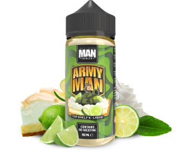"One Hit Wonder - ""Man"" Series - ARMY MAN - 100ml Shortfill - ZERO Nicotine"