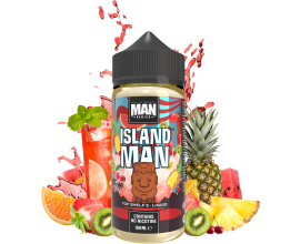"One Hit Wonder - ""Man"" Series - ISLAND MAN - 100ml Shortfill - ZERO Nicotine"