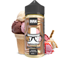 "One Hit Wonder - ""Man"" Series - MY MAN - 100ml Shortfill - ZERO Nicotine"