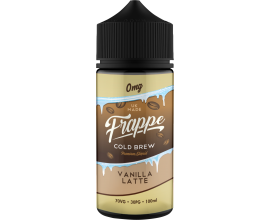 Frappe | Vanilla Latte | 100ml Shortfill | 0mg