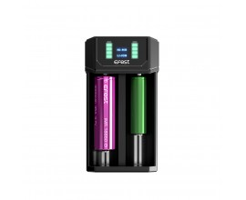 Efest | MEGA Li-Ion and Ni-MH USB Battery Charger | 2 Battery