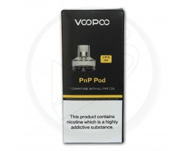 Voopoo | PnP Replacement Empty Pods | 2ml | Pack of 2