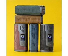 Sigelei | FOG 213 Mod | Dual 18650 | LEATHER EDITION