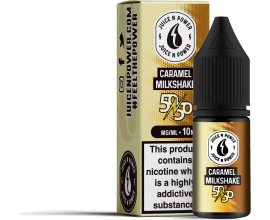 Juice N' Power 50/50 Range | Caramel Milkshake | 10ml Single | Various Nicotine Strengths