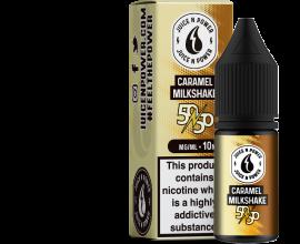 Juice N' Power 50/50 Range | Caramel Milkshake | 10ml Single | Various Nicotine Strengths