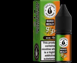 Juice N' Power 50/50 Range | Mango Medley | 10ml Single | Various Nicotine Strengths