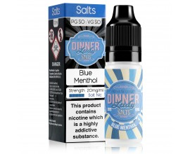 Dinner Lady Salts - Ice Range - Heisen Lady / Blue Menthol - 10ml NIC SALTS 20mg